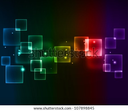 Abstract digital background - stock vector