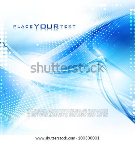 Abstract digital background. Vector - stock vector