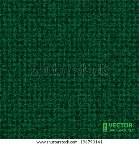 Abstract digital grey pixels seamless pattern background. RGB EPS 10 vector illustration - stock vector
