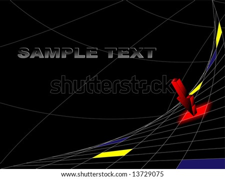 abstract digital vector background with copy space for your text, logo