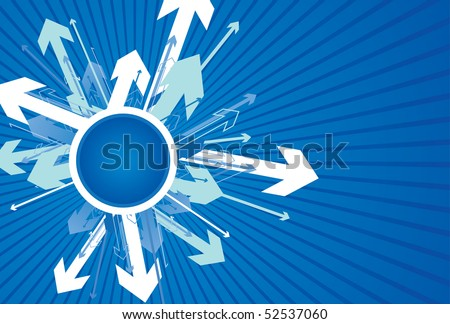 abstract directional background - stock vector