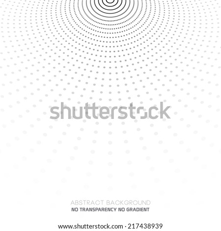 Abstract dotted background, halftone effect - stock vector