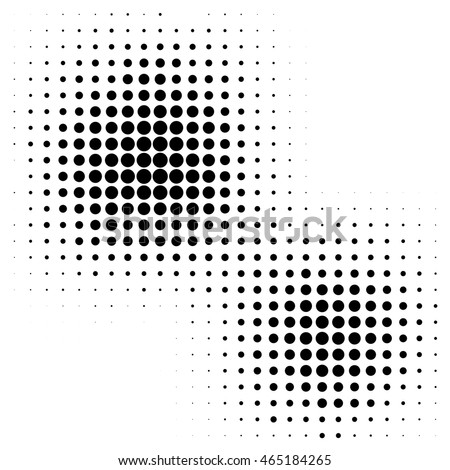 Abstract dotted background. Halftone effect vector background