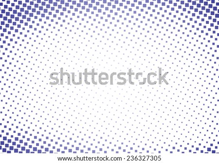 Abstract dotted halftone background - stock vector