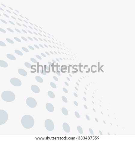 Abstract dotted vector background - stock vector