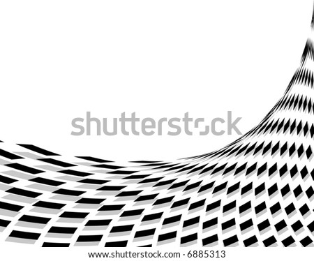 Abstract editable vector background design of diamond shape - stock vector