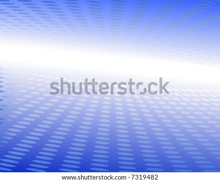 Abstract editable vector background of blue circles