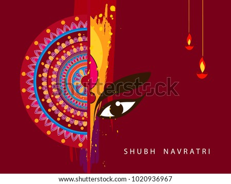 Abstract editable vector hindu festival chaitra stock photo photo abstract editable vector for hindu festival chaitra navratri 2018 used as greeting card poster m4hsunfo