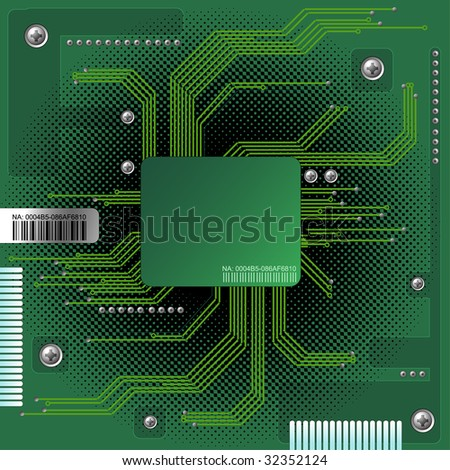Abstract electronic background with place for your text