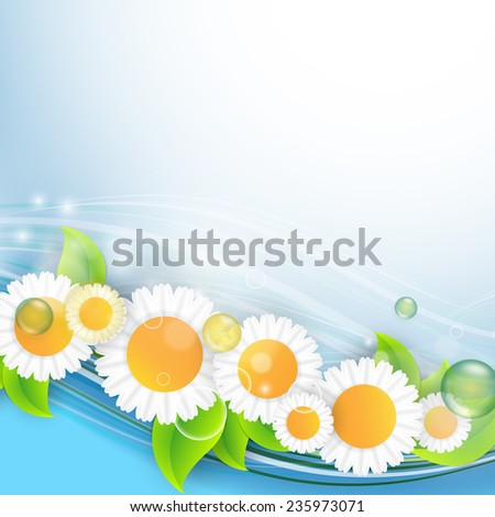 abstract environmental summer vector background . Eps10