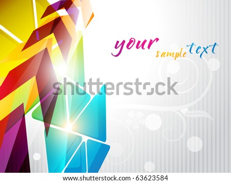abstract eps10 shiny background design