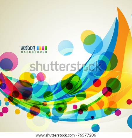 abstract eps10 vector shape artwork
