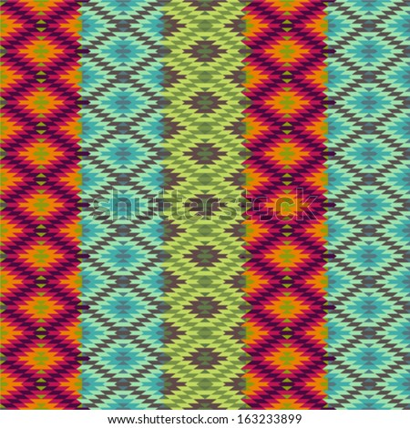 Abstract ethnic pattern - 1 - stock vector