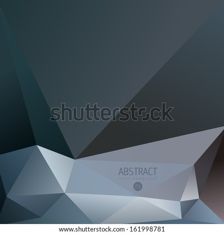 Abstract Fancy Diamond Shaped Vector Background