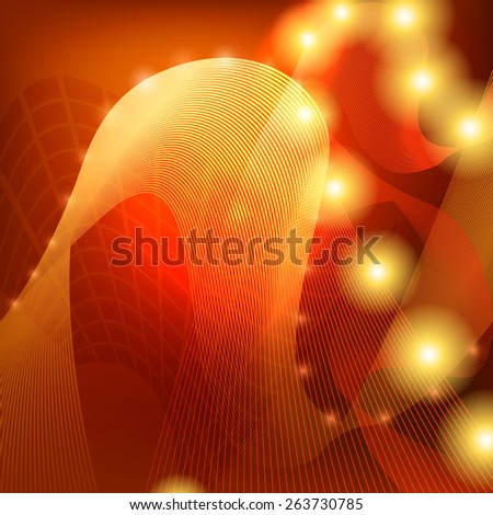 Abstract Fantasy Bright Background. - stock vector