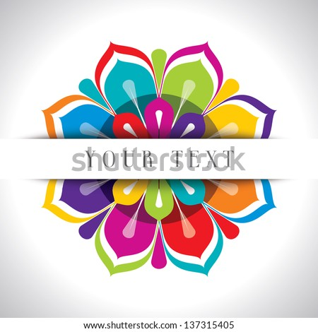 abstract fashion background - stock vector