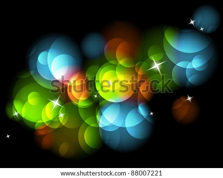 Abstract festive background - stock vector