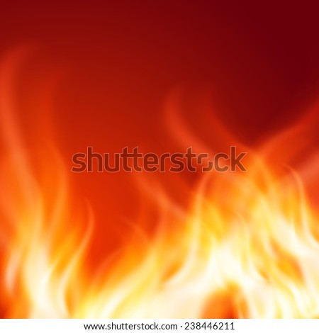 Abstract fire background. EPS10 vector. - stock vector