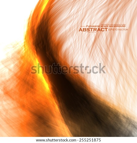 Abstract fire flames illustration. Colorful vector background eps10 - stock vector
