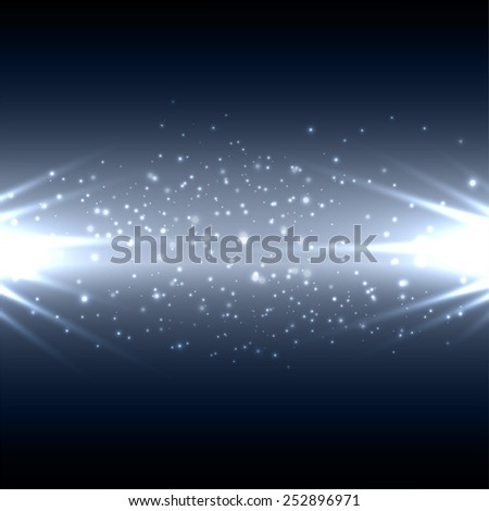 abstract flash background, dark design vector illustration. - stock vector
