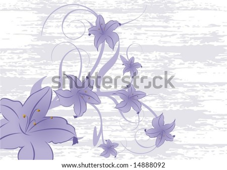 Abstract floral background-2