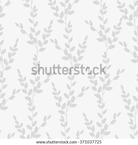 Abstract floral seamless pattern background - stock vector