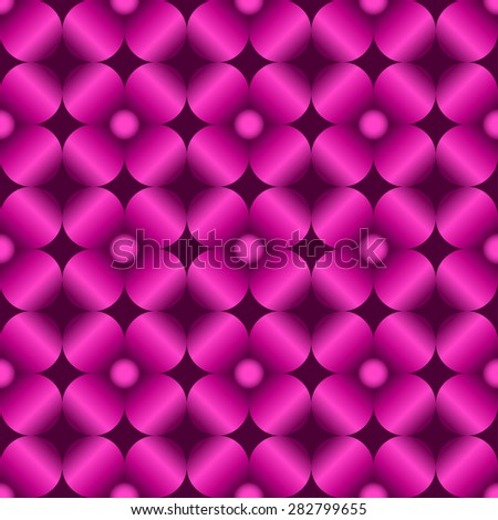Abstract flowers seamless pattern for endless backgrounds, printings, etc... Editable vector with several layers. Eps 10 - stock vector