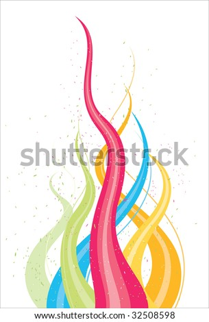 abstract flowing pattern