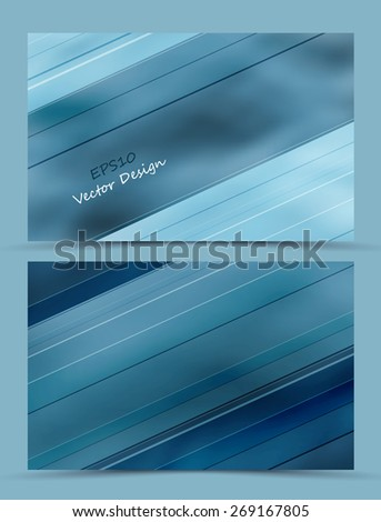 abstract foggy vector backgrounds with lines. Eps10 - stock vector