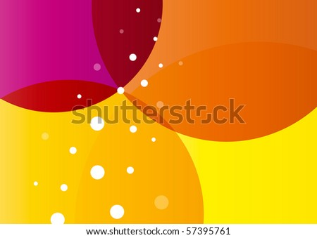 Abstract fresh summer background (eps10)