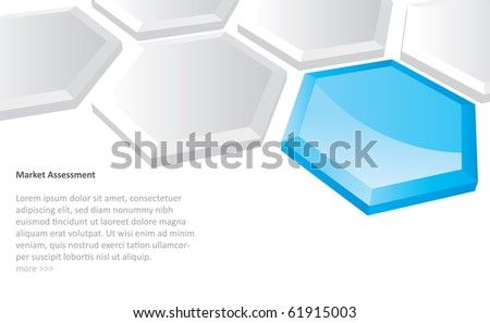 Abstract futuristic background in editable vector format - stock vector