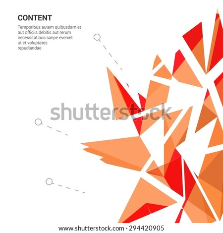 Abstract Futuristic Vector Picture for Invitation Card or Advertisement  Blue EPS10