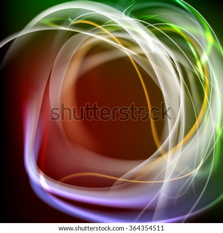 Abstract  gentle colorful background. Elegant sensitive frame vector - stock vector