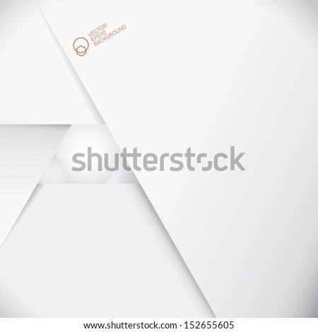 Abstract  geometric and central composed minimal background with a hexagon  - stock vector