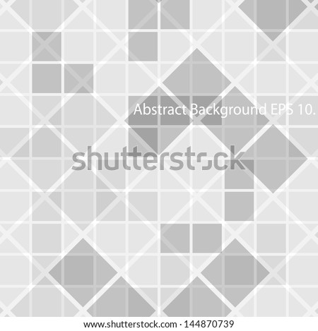 Abstract geometric background. - stock vector