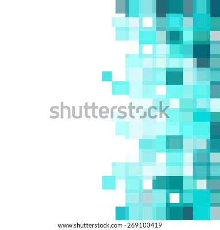 Abstract, geometric background - stock vector