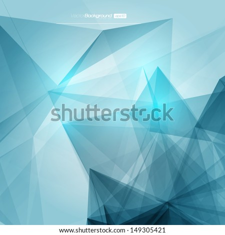 Abstract Geometric Background for Design | EPS10 Illustration - stock vector