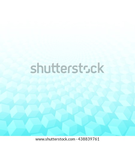 Abstract geometric background. Ideal for artistic concept works, cover designs.Turquoise  smooth twist light lines vector background. Eps 10. - stock vector