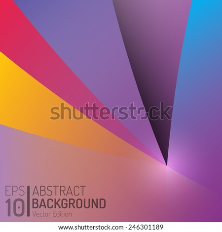 Abstract Geometric Background. Isolated Vector Trend Wallpaper. EPS10 Illustration Design - stock vector