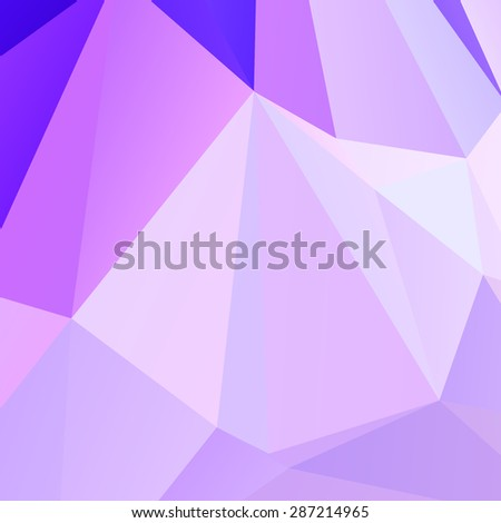 Abstract geometric background polygonal pattern - stock vector