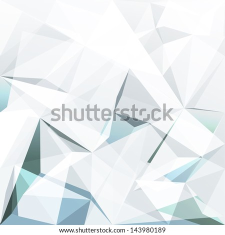 Abstract geometric background. Vector. - stock vector