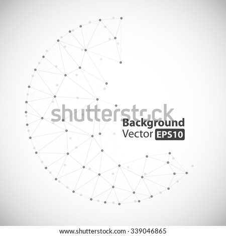 Abstract Geometric Background Vector EPS10 - stock vector