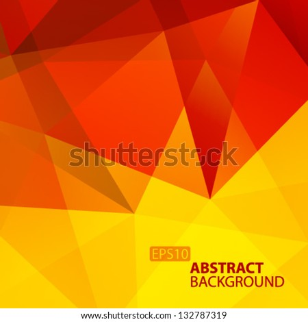Abstract Geometric Background. Vector Illustration - stock vector