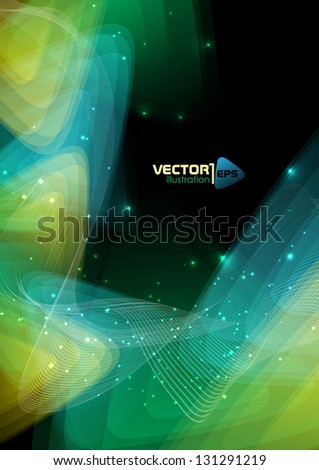 Abstract geometric background. Vector illustration. Eps 10. - stock vector
