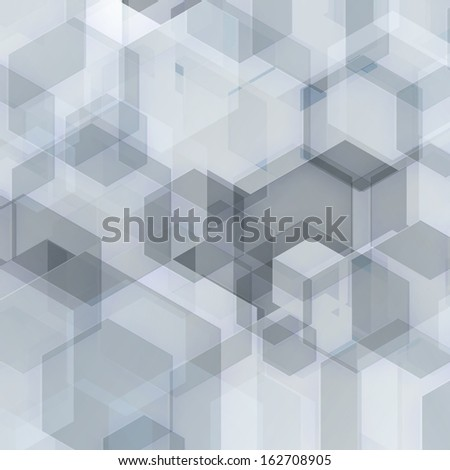 abstract geometric background with grey tones - stock vector