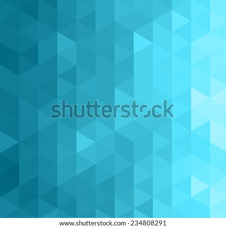Abstract geometric background with triangle - stock vector