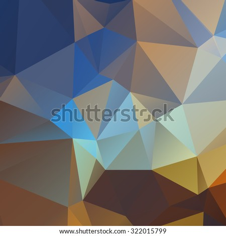 Abstract geometric background with triangles