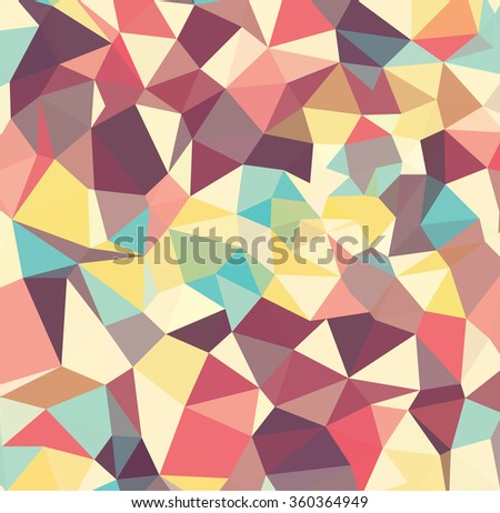 Abstract Geometric backgrounds. Polygonal