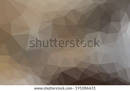 Abstract Geometric backgrounds. Polygonal vector - Nature