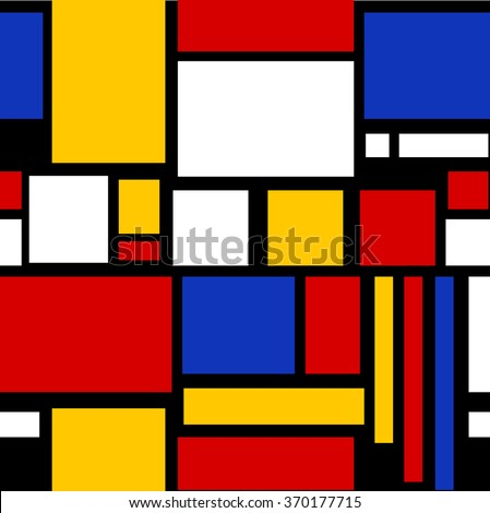 Abstract geometric colorful pattern for continuous replicate vector - stock vector